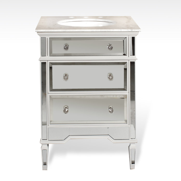 25 Inch Mirrored Bathroom Vanity 28 Images Fresca