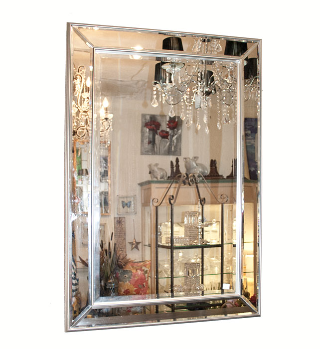 Mirror with Mirrored Frame TRA208401
