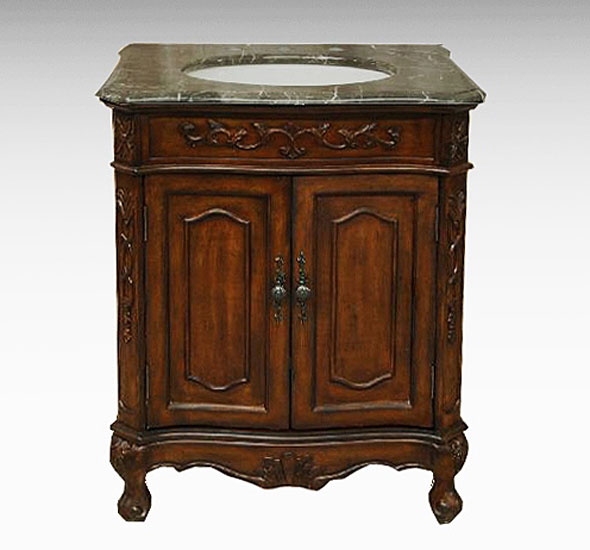 27 Inch Bathroom Vanities: 27 Inch Regal Antique Bathroom Vanity BX8169053AB