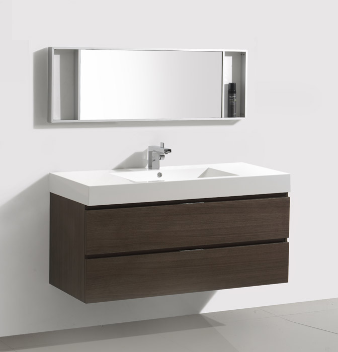 47 Inch Wall Mount Bathroom Vanity Mv318200c