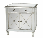 "Mirrored Cabinet 34""x34""H"