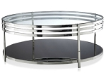 Metal Coffee Table Chrome, 40