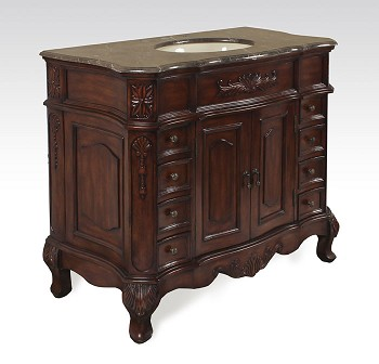 "Bathroom Vanity 42""W"