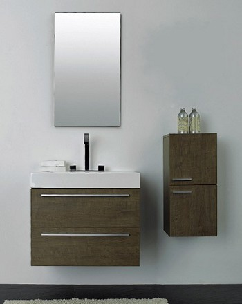 "Bathroom Vanity 27""W - Choice of wood finishes"
