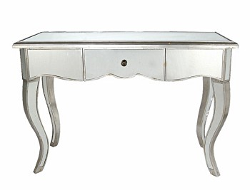 "FLOOR MODEL SALE - Mirrored Table console 48""x32""H"