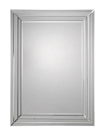 "Mirror with Mirrored Frame 36""x48"""
