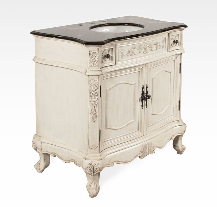 36 antique white bathroom vanity 36 inch regal antique bathroom vanity bx82489336aw 21811