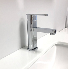 Polished Chrome Bathroom Vanity Faucet 5.75
