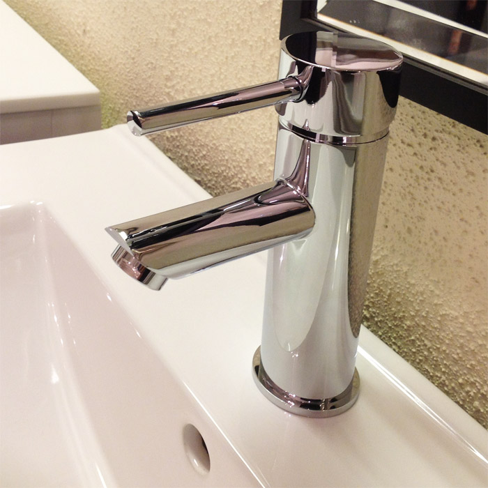 Single Lever Bathroom Vanity Faucet 5.25