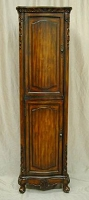 Linen Cabinet Antique Brown 21