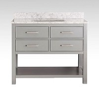 Grey Bathroom Vanity 43