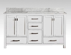 Double Sink Bathroom Vanity 61