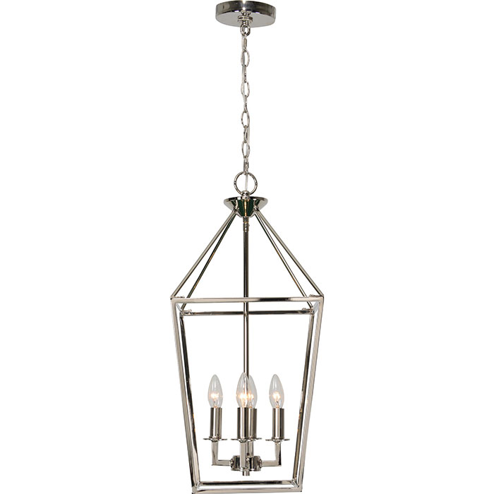 Arbour Polished Nickel Ceiling Fixture