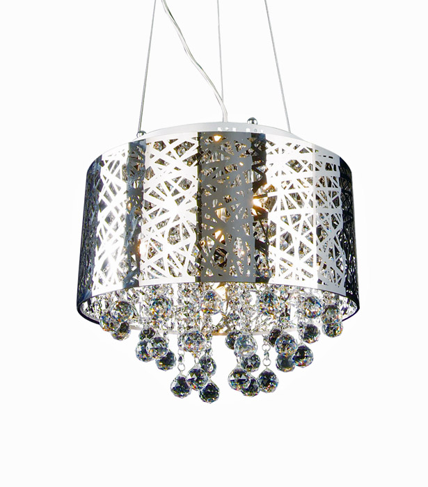 Chrome Chandelier 16