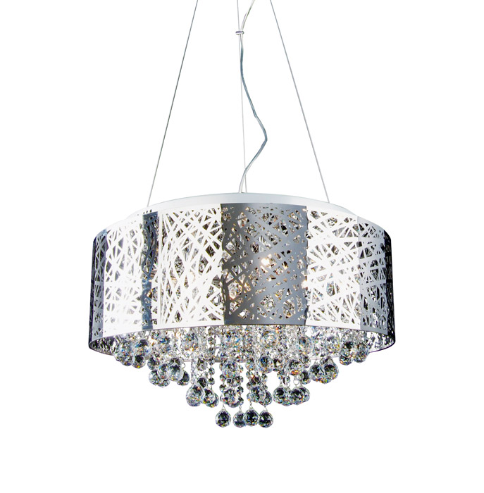 Chrome Chandelier 24
