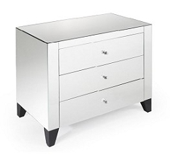 Mirrored Chest / Side Table 30