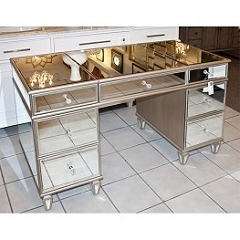 Mirrored Vanity Table - Desk 50