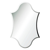 Beveled Frameless Mirror 24