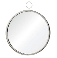 Chrome Round Mirror 23.5