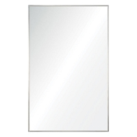 Stainless Steel Frame Mirror 24