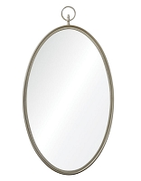 Metal Oval Mirror 22