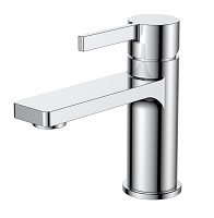 Single Lever Chrome Vanity Faucet 6.5