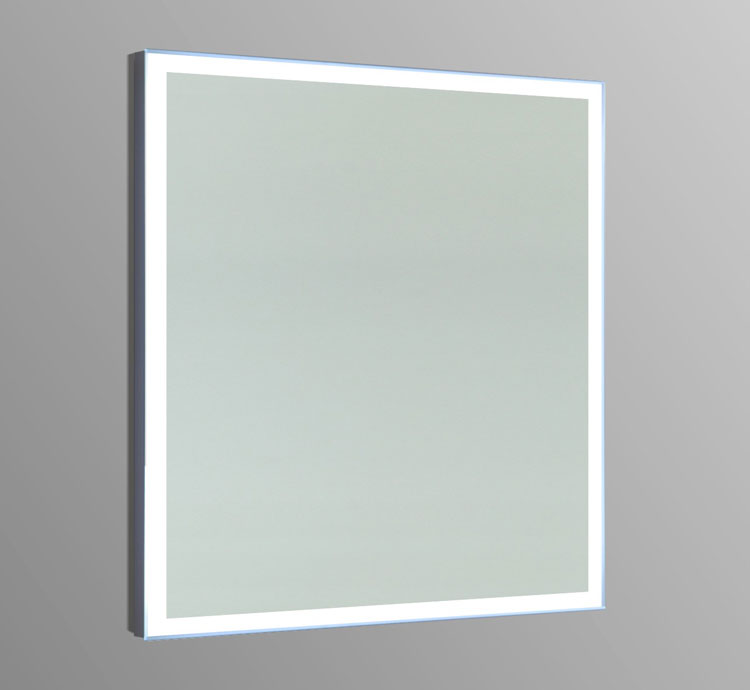 Terrific 24 Oxley Led Bathroom Rectangular Mirror 24X28H Download Free Architecture Designs Sospemadebymaigaardcom