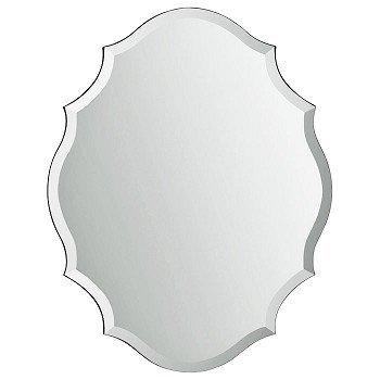 "Frameless Mirror 28""x22"