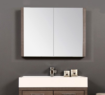 31.50 inch Medicine Cabinet - Available in different side trim finishes