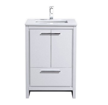 "24"" Adriano Bathroom Vanity, Available in other Finishes"