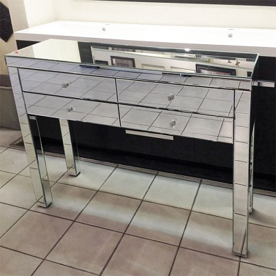 Mirrored Table Console 40