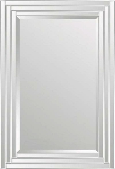 Mirror with Mirrored Frame 24