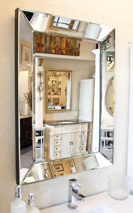 Mirror with Mirrored Frame 28